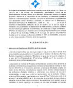 Al·legacions al projecte de Reial Decret de modificació del RD 954/2015 del MSSSI