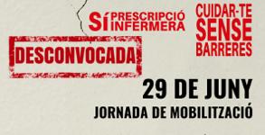 Desconvocada la Jornada de Mobilització de les Infermeres  catalanes