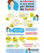 Infografia infermera tabaquisme