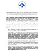 Informe preliminar sobre el document objectius de l'Institut Català de la Salut