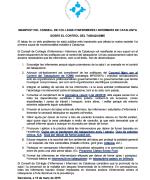 Manifest del Consell de Col·legis sobre el control del tabaquisme
