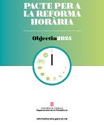 Pacte per a la Reforma Horària – Objectiu 2025