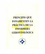 Decàleg competències infermera gerontològica