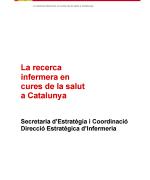 La recerca infermera en les cures de salut a Catalunya