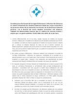 Consideracions del CCIIC a la Resolució de l'ICS per l'adopció de mesures en matèria de RRHH i mitjans per a la gestió de la crisi sanitària ocasionada pel COVID19