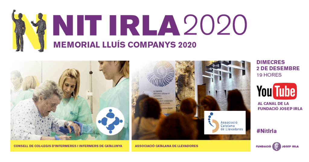 El Memorial Lluís Companys 2020 de la Fundació Josep Irla distingeix el CCIIC i l'ACL