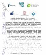 Comunicat dels professionals de salut mental davant l'actual situació de la sanitat pública catalana