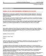 Directrius per a l'exercici en la Gestió Infermera de la demanda (GID)