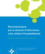 Recomanacions per la dotació d'infermeres a les unitats d'hospitalització