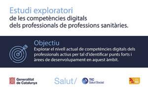 Avaluació de les competències digitals dels professionals de la salut