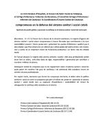 Nota conjunta de compromís per la defensa del sistema sanitari i social català