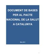 Pacte Nacional de Salut de Catalunya