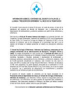 Informació sobre el contingut del decret català de prescripció infermera