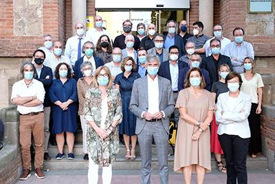 Les infermeres Montserrat Martínez i Coral Fernández, al Comitè Científic Assessor de la Covid-19 constituït per Salut
