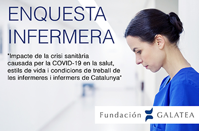 Fundació Galatea obre l'enquesta de la segona fase de l'estudi de salut infermera i Covid-19